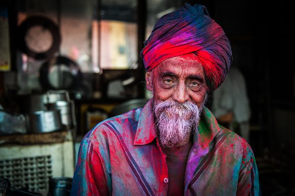 Holi Festival India Nikon school Travel Marco Carulli